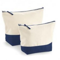 Dipped accessory bag Navy L