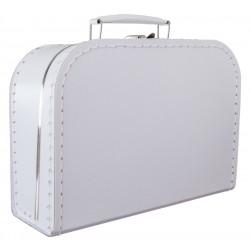 Witte koffer 25cm