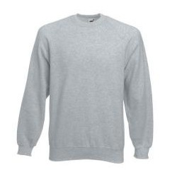 Sweater heather grey mannen