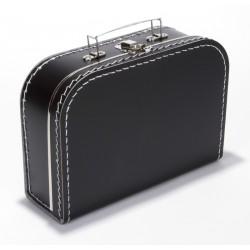 Zwarte koffer 25cm