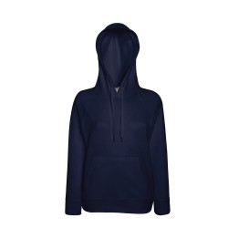Hooded sweater navy vrouwen