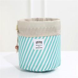 Toiletzak blue-mint stripes