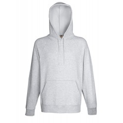 Hooded sweater heather grey...