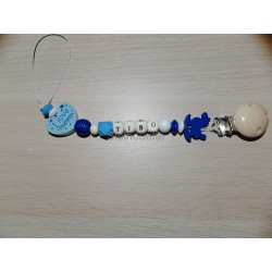 Fopspeenketting blauw -...