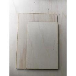Houten bordje 10x15cm