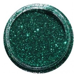 Green Dark Glitter potje 5ml