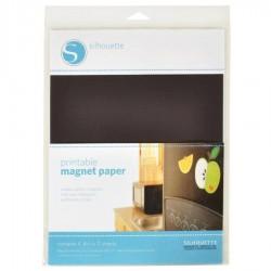Printbaar magnetisch papier