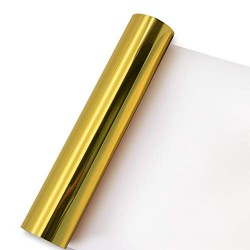 Metallic vinyl gold