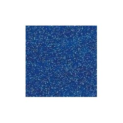 Donkerblauw vinyl glitter
