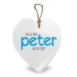 Tegel wil je mijn Peter zijn