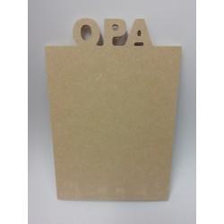 MDF bord Opa