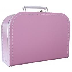Oudroze koffer 35cm