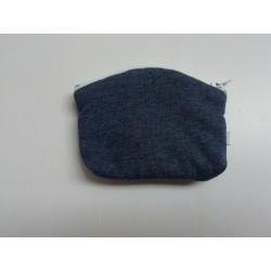 Portefuille blauw 10x8cm