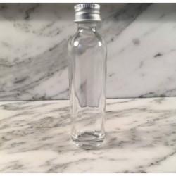 Glazen flesje langwerpig