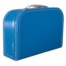Aquablauwe koffer 25cm