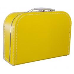 Okergele koffer 25cm