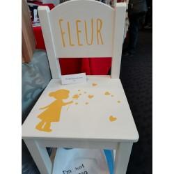 Kinderstoel met naam en...