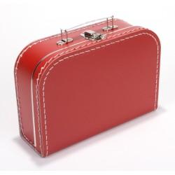 Rode koffer 25cm