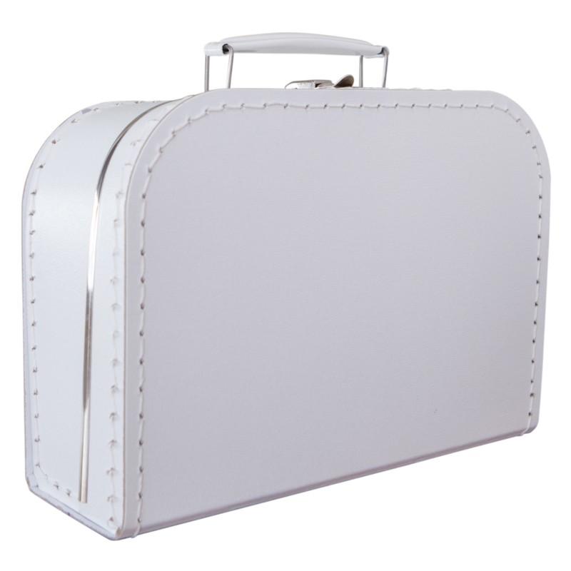 Witte koffer 35cm