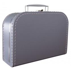 Zilver koffer 25cm