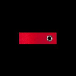 Vilten sleutelhanger rood