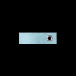 Vilten sleutelhanger babyblauw